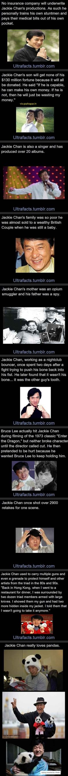 The Jackie Chan's Life Story