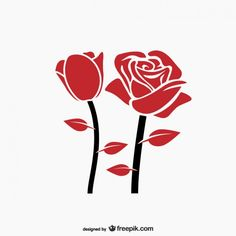 Rose Illustration, Free Vector Graphics, Free Vector Art, Wallpaper Background Design, Fall Clip Art, Beautiful Rose Flowers, Floral Banners, Rose Nails, Elements Of Design