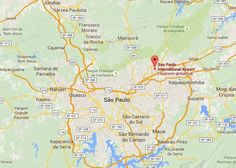 Sao Paulo Brazil Airport Baggage Auctions, Sao Paulo-Guarulhos International Airport (GRU), Baggage auction location information,map