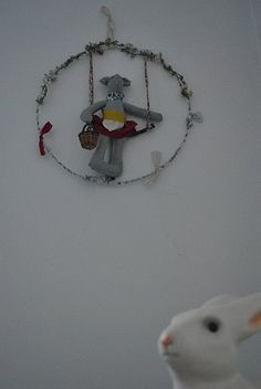 wreath with mouse