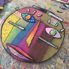 Cardboard, pastel, posca and acrylic masks Inspiration: Kimmy Cantrell masks and Sandra Silberzweig portraits. Art And Craft Videos, Arts And Crafts, Classe D'art, Atelier D Art, 6th Grade Art, Cardboard Art, Inspiration Art, Art Lessons Elementary, Posca