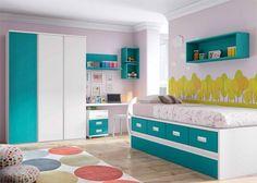 Habitación Infantil con compacto Nido  Armario
