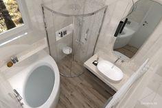 MALÉ KÚPEĽNE - Riešenia & Dizajn / BENEVA Toilet, Bathtub, Bathroom, Standing Bath, Washroom, Flush Toilet, Bathtubs, Bath Tube, Full Bath
