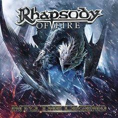 """L'album dei #RhapsodyOfFire intitolato """"Into the legend""""."""