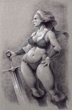 Kevin Keele's Toned Paper Illustrations - Strathmore Artist Papers