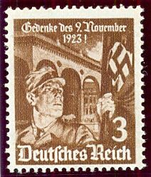 5th November 1935. 12th Anniversary of the Munich Putsch   9th November 1923, saw the Munich Putsch, when Hitler tried to take power by force in Munich. The attempt failed, but created martyrs when some of them were shot down by the Munich police.