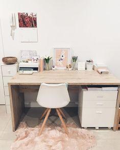 Modern Home Offices, Modern Office Decor, Home Office Design, Home Office Decor, Office Ideas, Home Decor, Office Designs, Office Setup, Office Lighting