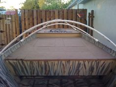 arched frame for boat cover