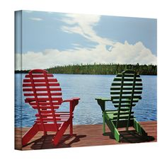 @Overstock.com - Artist: Ken Kirsch Title: Dockside Product type: Wrapped Canvashttp://www.overstock.com/Home-Garden/Ken-Kirsch-Dockside-Wrapped-Canvas/7299625/product.html?CID=214117 $54.99