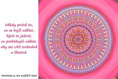 *PODLE TÉMAT   Mandala na každý den Symbols, Motivation, Quotes, Quotations, Quote, Shut Up Quotes, Glyphs, Icons, Inspiration