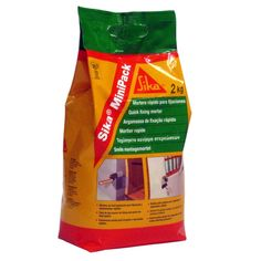 Sika® MiniPack Fijaciones - Sika®  MiniPack: Mortero de fraguado rápido para fijaciones. 2 kg. Material World, Cleaning Supplies, Soap, Drinks, Bottle, Grout, Mortar And Pestle, Construction Materials, Drinking