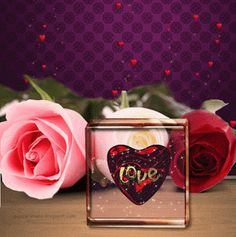 🌹Romanticism, Sensuality, and Love🌹 L Love You, My Love, Romanticism, Love Images, Heart Ring, Blog, Floral, Flowers, Gifs