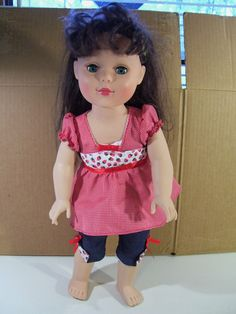 """MADAME ALEXANDER FRIENDS BOUTIQUE EMILY 18"""" DOLL WITH SUMMER STRAWBERRY OUTFIT #MADAMEALEXANDER"""
