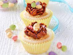 Cupcakes s čokoládovým hniezdom http://www.woman.sk/velkonocne-cupcakes-s-cokoladovymi-hniezdami/