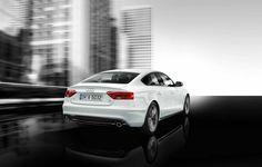 Audi A5 Sportback White.  The ultimate car.