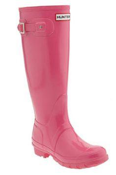 Hunter rain boots for mom