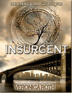 Insurgent - Book 2 of the Divergent Trilogy. I really got into this series more than I thought I would. I'm excited to read the last one when it comes out!