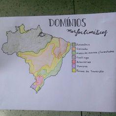 Domínios morfoclimáticos brasileiros parte 2! { #dominiosmorfoclimaticos × #geografia × #amazonia × #cerrado × #caatinga × #maresdemorros × #araucárias × #pradarias × #studies × #estudos × #vestibular...