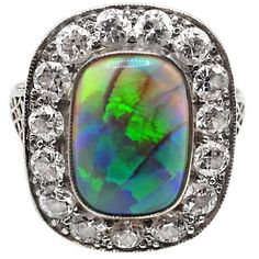4.60cts Australian Solid Boulder Opal Pendant in Sterling Silver Sparkling Green-Blue Fire