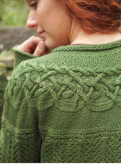 Circlet Cardigan Pattern by Kerin Dimeler-Laurence