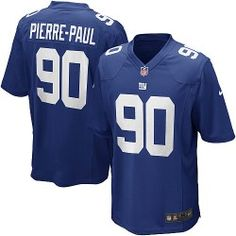Shop for OfficialNFL Youth Elite Nike New York Giants #90 Jason Pierre-Paul Team Color Blue Jersey. Get Same Day Shipping at NFL New York Giants Team Store. Size S, M,L, 2X, 3X, 4X, 5X.$79.99