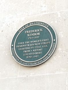 Frederick Winsor - Pall Mall, London, SW1