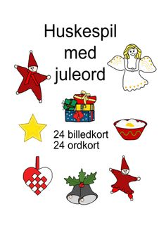 Huskespil med forårs-ord - Bubbleminds Cooperative Learning, Speech Therapy, Kids And Parenting, Classroom, Games, Playing Cards, School, Education, Christmas
