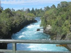 Hukka Falls New Zealand
