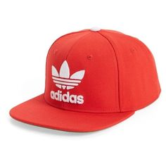 Men s Adidas Originals Trefoil Chain Snapback Baseball Cap (450 ARS) ❤  liked on Polyvore e0c10cf8fb36