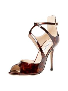 Serena Peep-Toe Sandal from Tables Under $199 on Gilt
