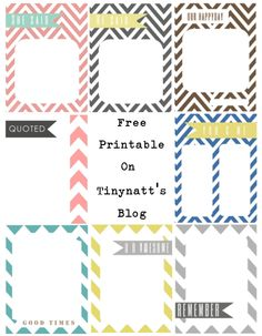 Free PL printable journaling cards