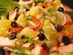 Cocinando con Lola García: Ensalada de patatas con atún