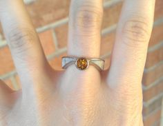 Harry Potter Golden Snitch Engagement Ring 18k by houseonhudson