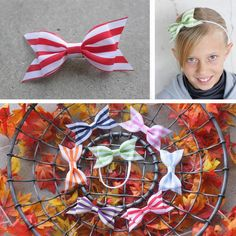 Mini Striped Barbeque Bows only $2.00 each