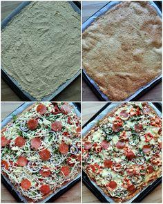 Heimelaga, sunn pizza med proteinrik havrebunn - LINDASTUHAUG Stepping Stones, Pizza, Outdoor Decor, Food, Blogging, Stair Risers, Eten, Meals, Diet