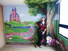 mural for a princess