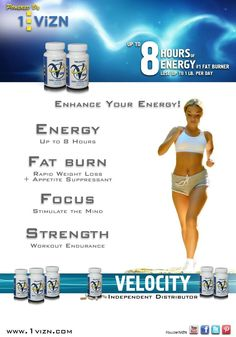 Learn More About Velocity a 1ViZN Supplement designed to help individuals lose weight, and have healthier bodies. Take It Off. Keep It Off. with Velocity.