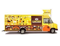 Inspirations for an upcoming project-  Food Truck Branding.   AZ Canteen by Spunk Design Machine