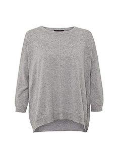 Summer breeze slouch knit top