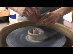 ▶ Pottery: How to Make Salt & Pepper Shakers - YouTube