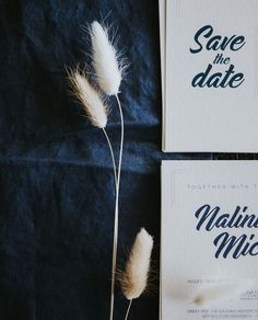 I designed a custom suite for these guys with their save the dates and wedding invitations. Navy ink printed and letterpress on beautiful… Letterpress, Save The Date, Dates, My Design, Wedding Invitations, Ink, Navy, Guys, Printed
