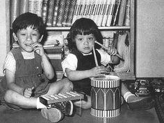 Eddie and Alex Van Halen - The early years!