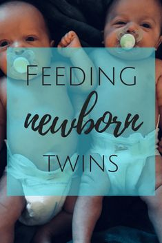 Twin Life | Feeding Newborn Twins at the Same Time - Twins and Coffee