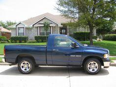 Dodge Ram Truck Blue