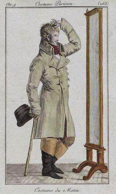 Все интересное в искусстве и не только. - Джентльмены - модные господа начале девятнадцатого века