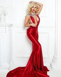 Prom sexy dresses red