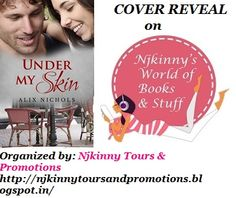#CoverReveal Under My Skin by @Aalix_Nichols on Njkinny's World of Books & Stuff http://njkinny.blogspot.in/2014/09/cover-reveal-under-my-skin-bistro-la.html #Romance