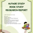 This is a 16 page author study resource pack. In this resource, students are able to conduct a short research report on an author of the. Author Studies, Research Report, Book Study, Student Teacher, Writing Ideas, School Stuff, School Ideas, Seal, Students