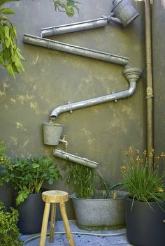 Backyard Small Diy Water Features Ideas For 2019