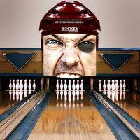 Partnership Activation - hockey bowling ad